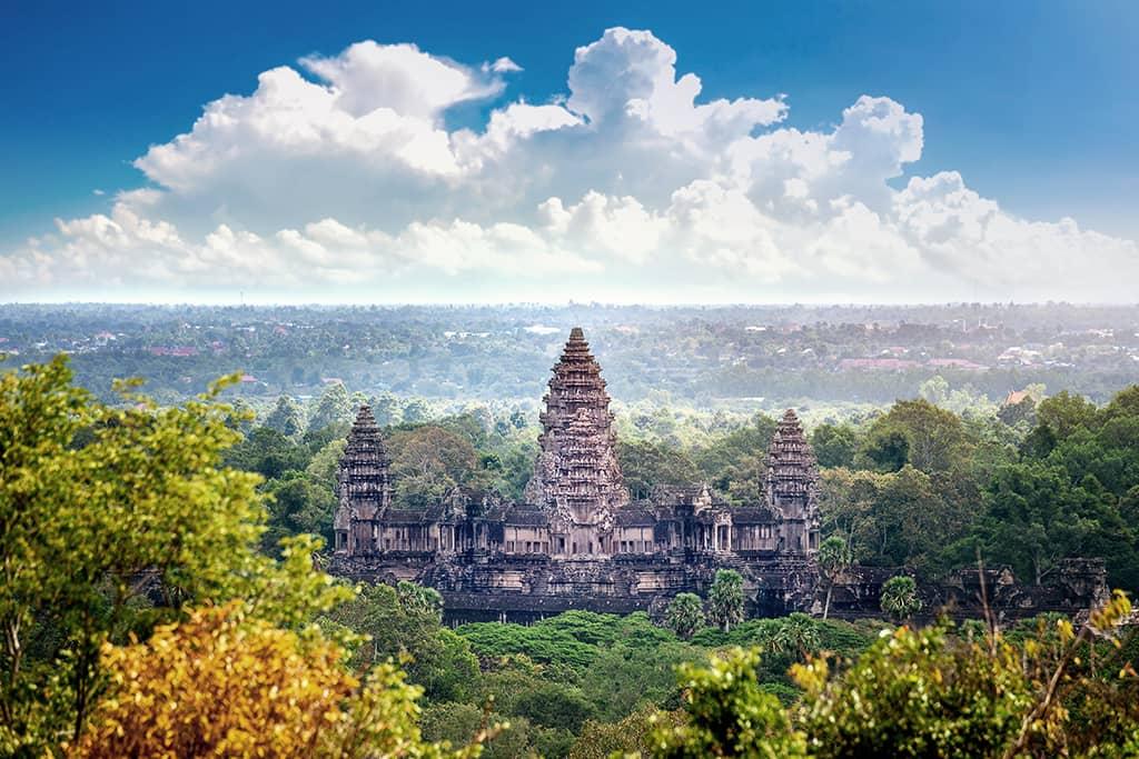 Die-Tempelanlage-von-Angkor-Wat