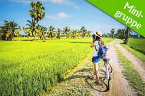 Fahrradreise durch Indochina mit Strandurlaub