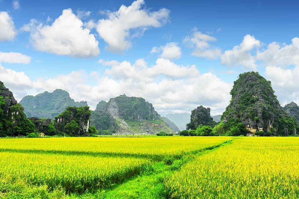 Fahrradtour durch die Landschaften von Ninh-Binh