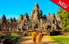 Große Rundreise von Vietnam nach Kambodscha