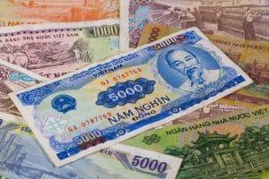 Der Vietnamesische Dong als Geld Währung