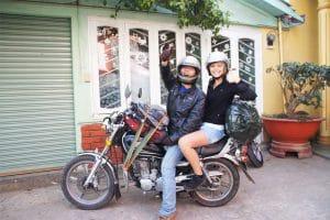 Unterwegs auf einer Easy Rider Tour durch Dalat