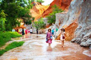 Die Fairy Springs in Mui-Ne