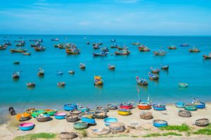 Fishing Village in Mui Ne