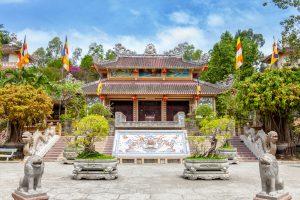 Die Long Son Pagode in Nha Trang