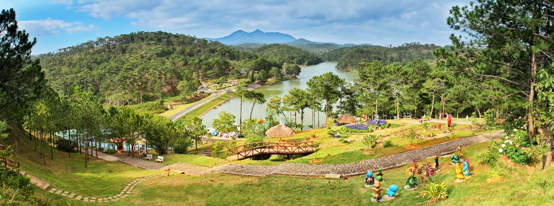 Das Love Valley in Dalat