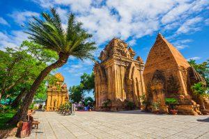 Die Po Nagar Türme in Nha Trang