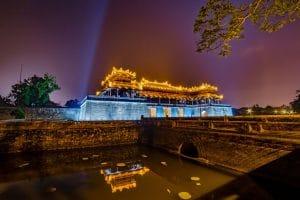 Die Verbotene Stadt in Hue - Vietnam