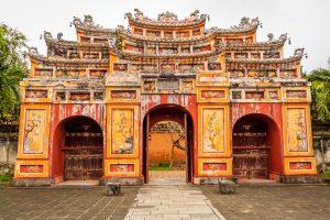 Die berühmte Zitadelle von Hue